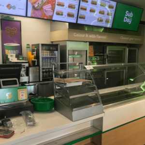 Subway Applegreen 2